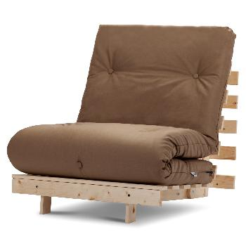 Mito Single Futon Chocolate