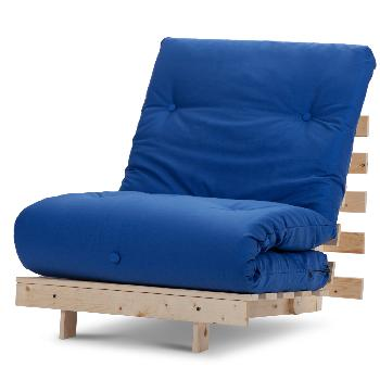 Mito Single Futon Royal Blue