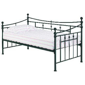 Olivia Metal Day Bed in Black