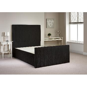 Wooden beds compare prices save page 124 for Divan bed frame king