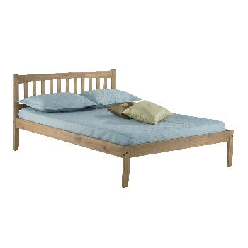 Porto Wooden Bed Frame - Pine - Small Double