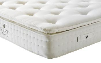 Rest Assured Knowlton 2000 Pocket Latex Mattress, Superking