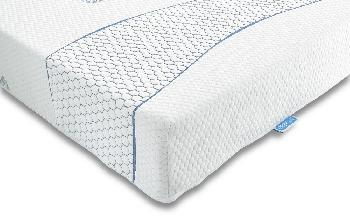 Sareer Cool Blue Memory Foam Mattress, Small Single