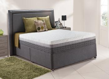 Sealy indulgence posturepedic spring divan bed medium for Cheap 4 foot divan beds