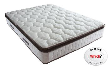 Sealy Nostromo Posturepedic Pocket 1400 Latex Mattress, Superking