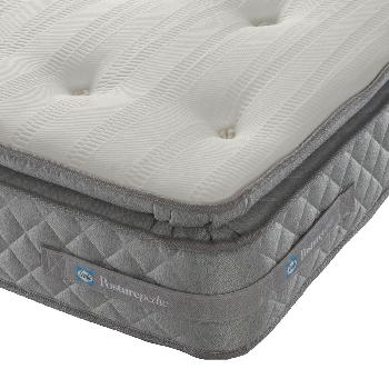 Sealy Roma 1500 Pocket Pillow Top Mattress - Single