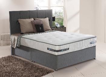Sealy rosebury pocket sprung divan bed firm 6 39 0 super for Pocket sprung double divan bed