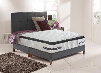 Sealy Rushton Pocket Sprung Divan Bed with Legs - Medium Firm - 5'0 King