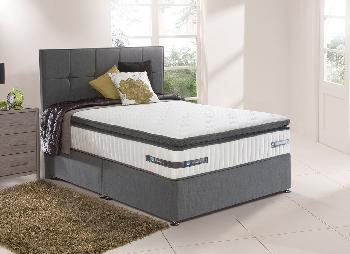 Sealy Sotheby Pocket Sprung Divan Bed - Medium Firm - 4'6 Double