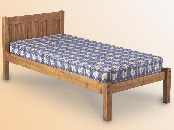 Seconique Maya Single Pine Bed Frame
