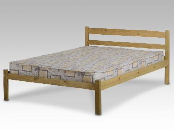 Seconique Panama Double Pine Bed Frame