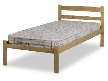 Seconique Panama Single Pine Bed Frame