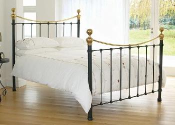 Selkirk Bedstead - Satin Black - 6'0 Super King