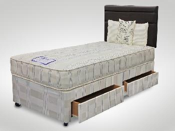 Shire 3ft 6 Spencer Large Single Divan Bed
