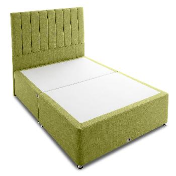 Shire victoria olive single divan base single divan beds for Cheap single divan with drawers