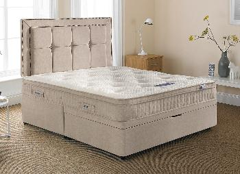 Silentnight Glenmore Pocket Sprung Ottoman Bed - Medium Firm - 6'0 Super King