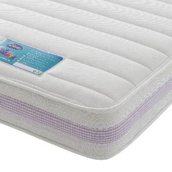 Silentnight Healthy Growth Kids Microquilt Mattress - Lilac - Small Double