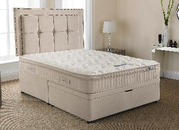 Silentnight Langley Pocket Sprung Ottoman Bed - Medium Firm - 6'0 Super King