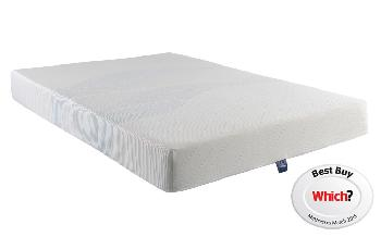 Silentnight Memory 3 Zone Mattress, European Double