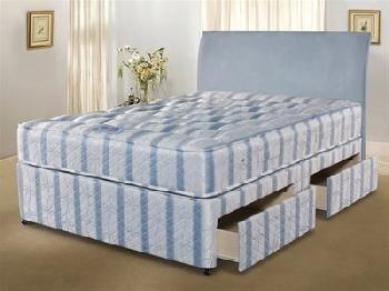 Simmons Bedding Group Nestledown Ultimate Backcare 4' 6 Double Platform Top - No Drawers Divan