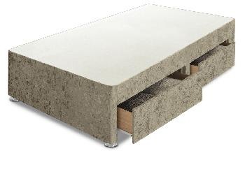 Sleep Relax 2ft 6 Universal Small Single Glitz Divan Base