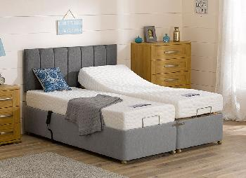 Sleepeezee Shakespeare Adjustable Divan Bed - Medium Firm - 3'0 Single
