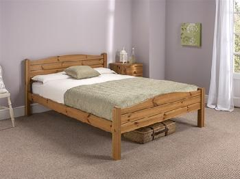 Snuggle Beds Elwood Antique 2' 6 Small Single Honey Antique Pine Wooden Bed