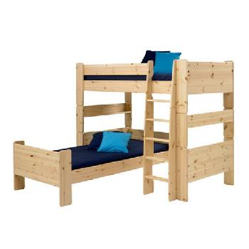 Steens Natural Pine Bunk To Single And High Sleeper Extension Kit