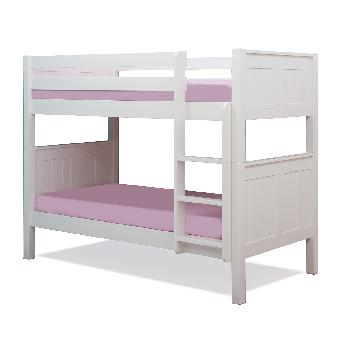 Stompa Classic Kids Bunk Bed - White White with Drawers