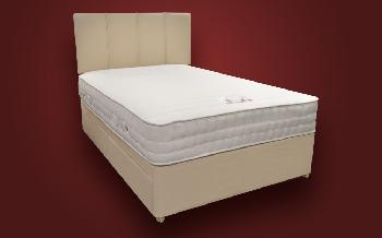 Sweet Dreams Elise Memory Pocket 1000 Divan, Small Double, 2 Drawers, Matching Neptune Headboard