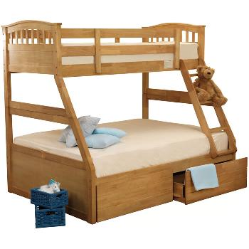 Sweet Dreams Epsom Triple Bunk Bed - White