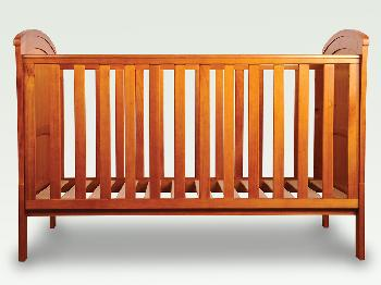 Sweet Dreams Flat Packed Felix Oak Cot Bed