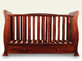 Sweet Dreams Flat Packed Izzy Mahogany Cot Bed