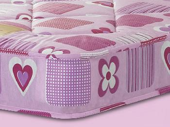 Sweet Dreams Hearts Single Mattress