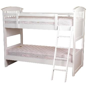 Sweet Dreams Ruby Bunk Bed - White