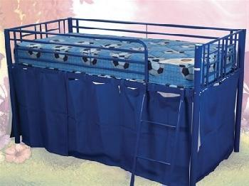 Sweet Dreams Twinkle Blue 3' Single Blue Cabin Bed