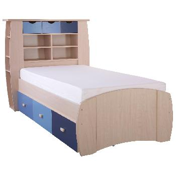 Sydney Blue Cabin Bed with Drawers