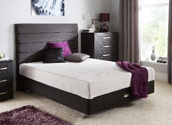 TEMPUR Original 21 and Luxury Base Divan With Legs - Charcoal- Firm - 6'0 Super King