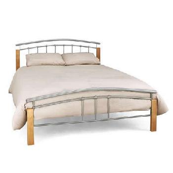 Tetras Bed Frame with Mattress and Bedding Bale Small Double