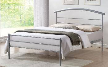 Time Living Brennington Metal Bed Frame, Single