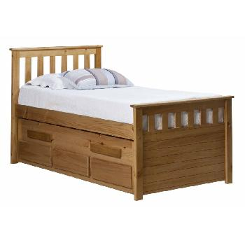 Verona Kids Bergamo Captains Bed - Antique
