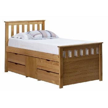 Verona Kids Ferrara Captains Bed Antique