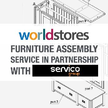 Verona Maximus Wooden Mid Sleeper Assembly Service