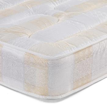York Light Quilt Sprung Mattress Single